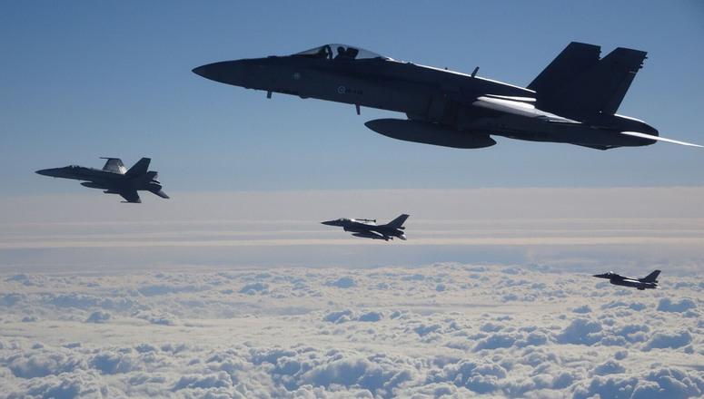 НАТО авиони од данас чувају небо Црне Горе