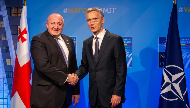Столтенберг: Грузија ће постати чланица НАТО