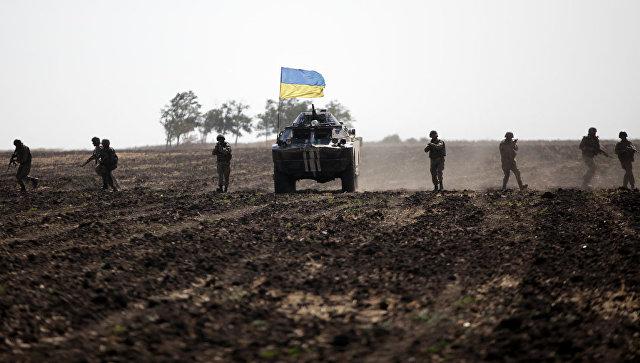 """Доњецк: Кијевске снаге гранатирале позиције """"Азова"""" и """"Десног сектора"""""""