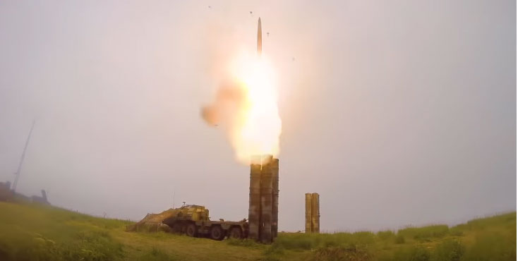 Бојево гађање системима С-400 на Камчатки