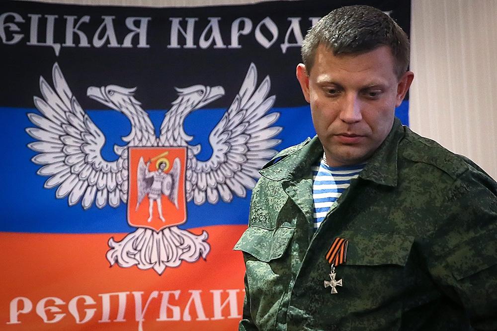Доњецк демантовао информације о рањавању Захарченка