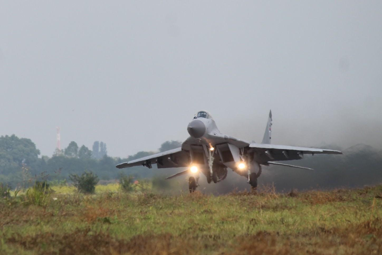 """Полетео први """"миг 29"""" који је прошле године стигао из Русије"""