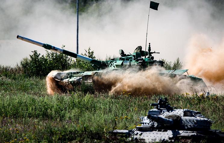 Тенковски биатлон - полуфинале