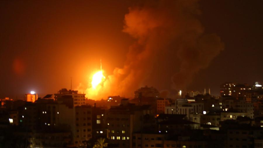 РТ: Израел бомбардовао Појас Газе