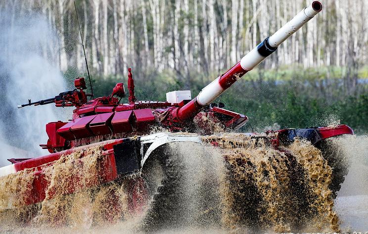 "Руски тенкисти поново први на ""тенковском биатлону"""