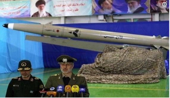 Иран представио нову балистичку ракету