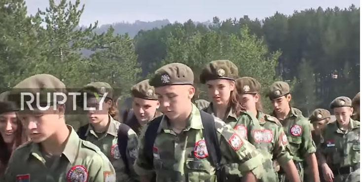 Војно-патриотски камп за омладину на Златибору