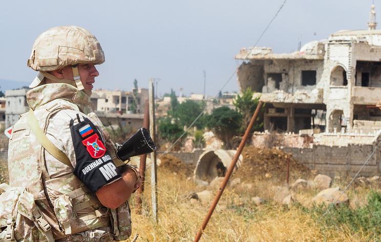 Руска војна полиција ће напустити Голанску висораван након доласка сталних патрола мисије УН