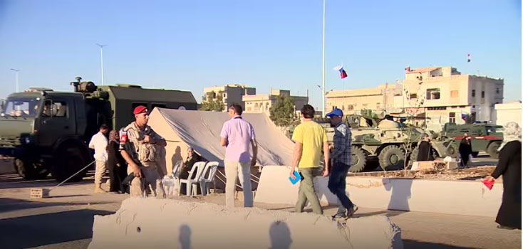 Руска војска показала новинарима како се Сирија враћа у нормалан живот
