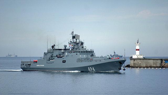 Dve ruske fregate krenule prema Sredozemnom moru