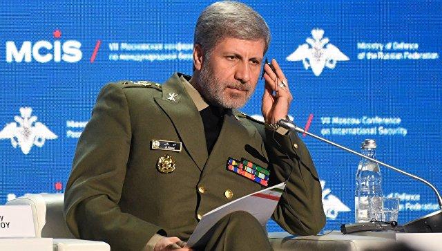 Iranski ministar odbrane u poseti Siriji