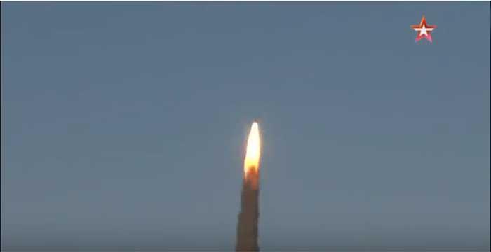 Ваздушно-космичке снаге Русије успешно тестирале нову ракету ПРО