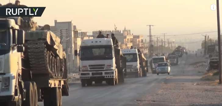 Сиријска војска концентрише снаге према Идлибу за коначни обрачун са терористима