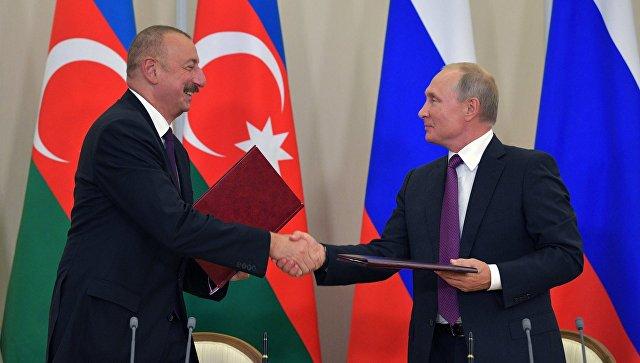 Путин: Русију и Азербејџан повезују чврсте традиције пријатељства и сарадње