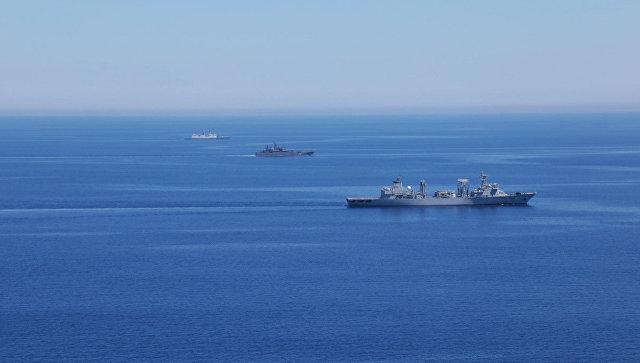 Током маневара у Средоземном мору извршено више од 50 вежби