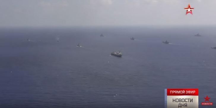 Објављен видео снимак великих руских маневара на Средоземном мору