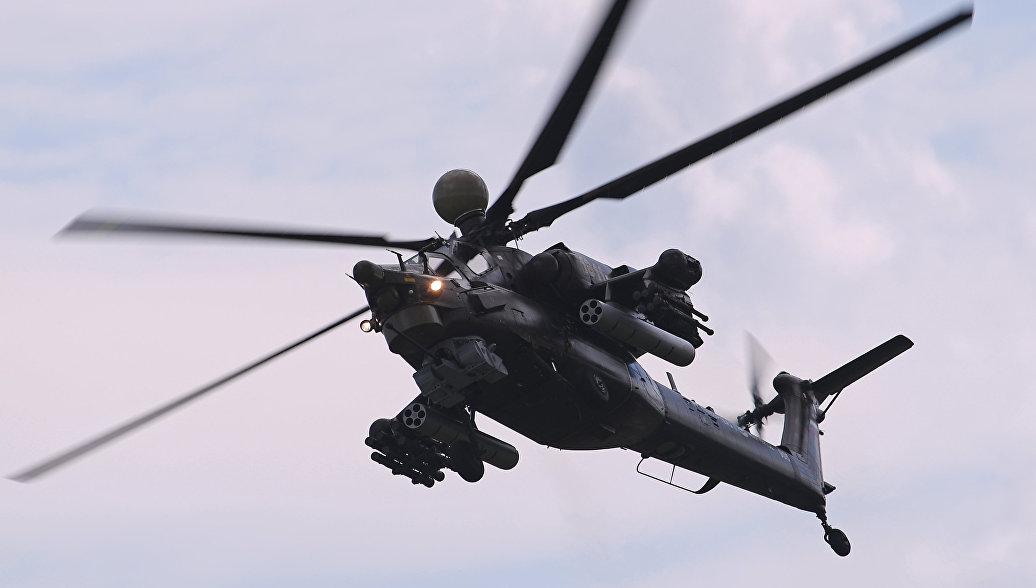 """Почела тестирања """"Ноћног ловца""""  Ми-28НМ"""