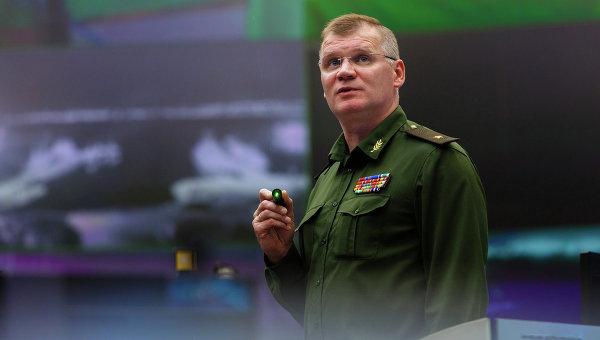 """Конашенков: У Идлибу одржан састанак терориста са учешћем """"Белих шлемова"""""""