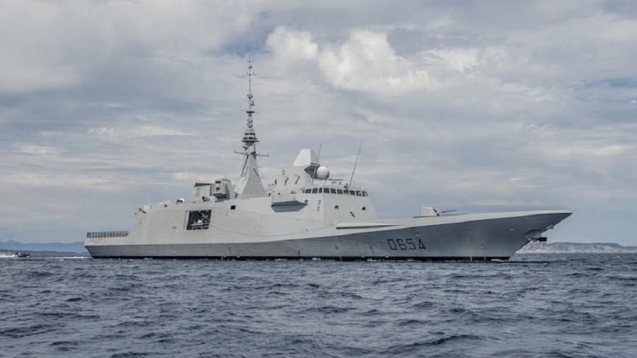 РТ: Русија регистровала лансирање ракета са француске фрегате на северној обали Сирије