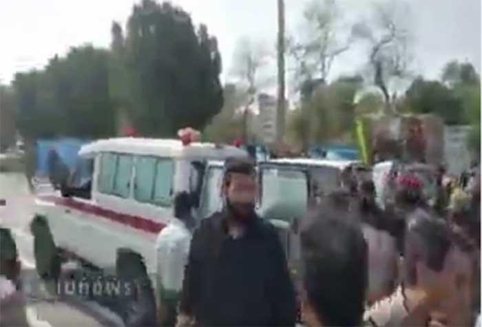 Напад на војној паради у Ирану