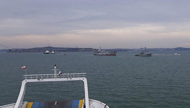 """Кијев оптужио Москву за """"опасне инциденте"""" у Керчском мореузу"""