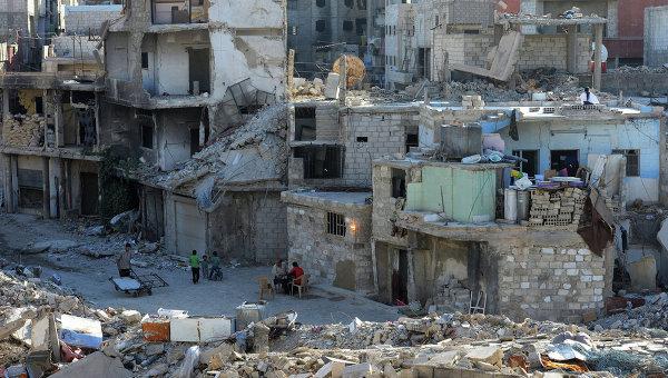 Дамаск: Поступци коалиције САД која је уништила већи део града Раке геноцидни