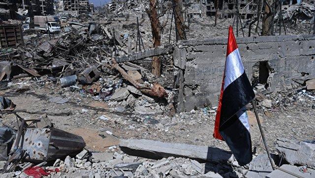 """На подручју Идлиба примећена пребацивања терориста и """"Белих шлемова"""" са отровним материјама"""