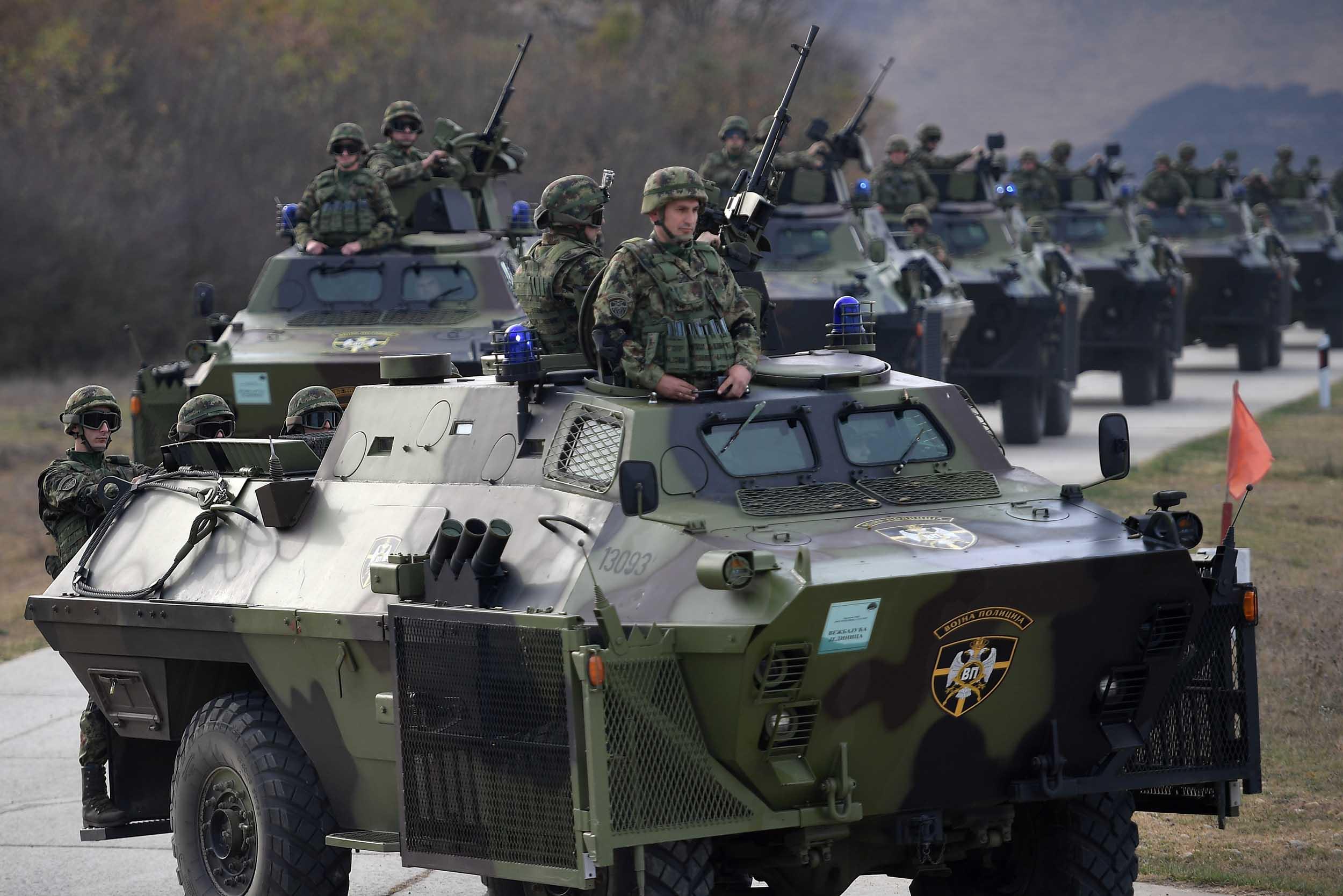 """Провера припремљености 5. батаљона Војне полиције за вежбу """"Век победника 1918-2018"""""""