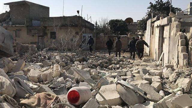 Коалиција САД поново бомбардовала сиријски град белим фосфором