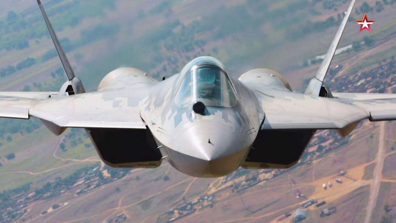 Јединствени видео снимак лета авиона Су-57