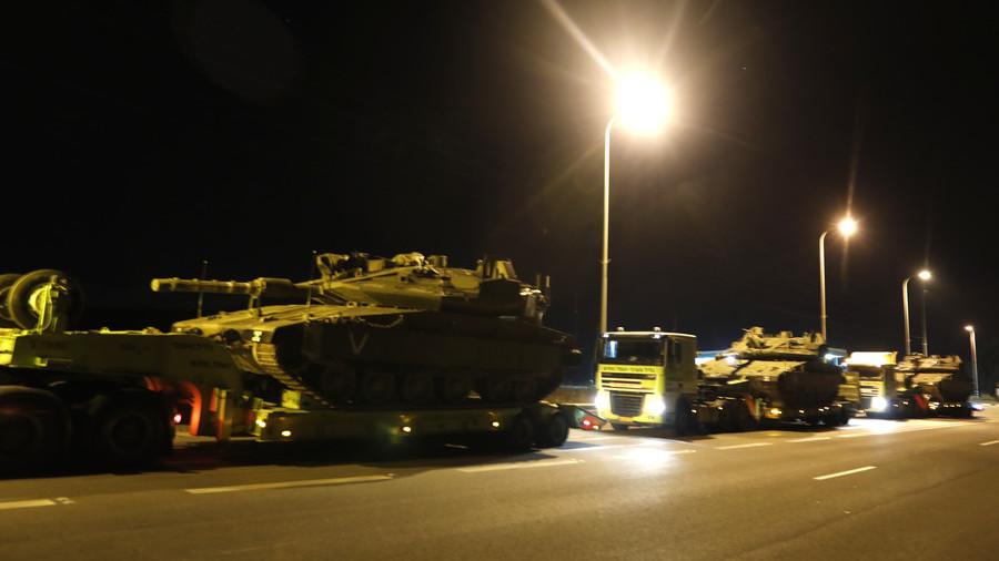 РТ: Израел шаље тенкове на границу са Газом ради могућег копненог напада