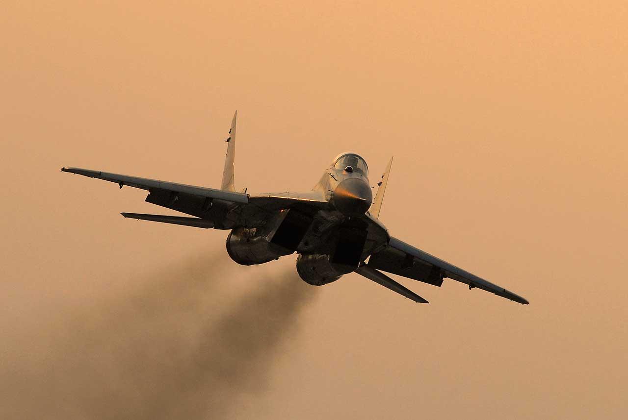 Naleti avijacije nad područjem Niša