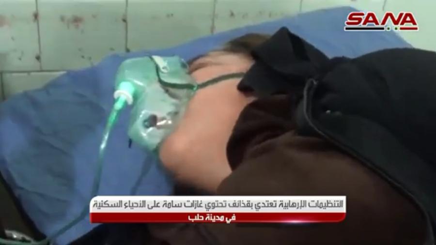 РТ: Преко 70 особа хоспитализовано након што су милитанти напали Алепо хемијским оружјем