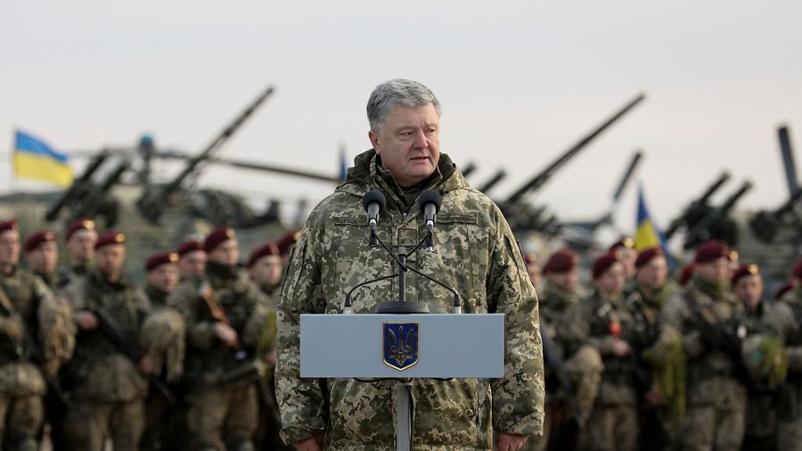 RT: Porošenko potpisao ukaz o uvođenju ratnog stanja