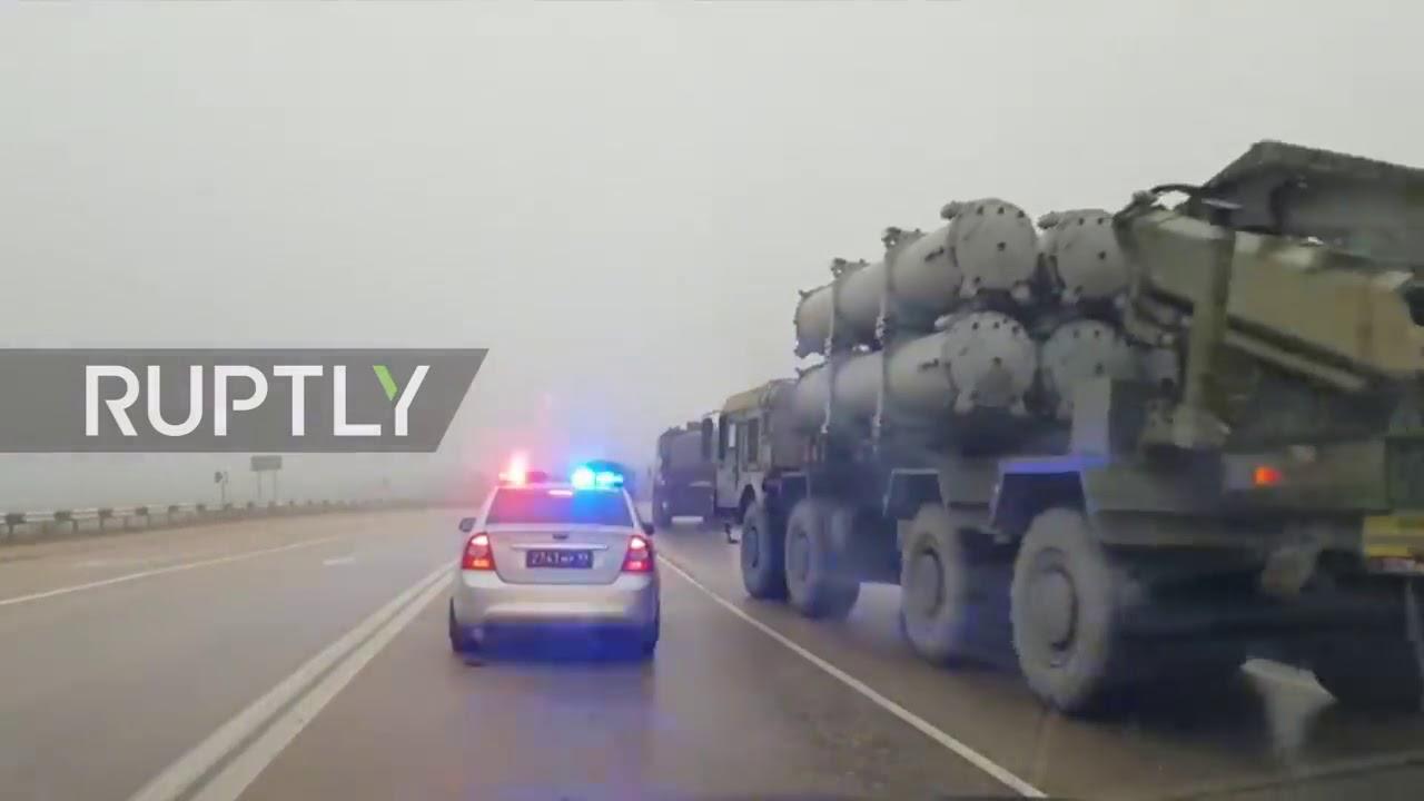 """Protivbrodski raketni sistemi """"Bal"""" na putu za Sevastopolj"""
