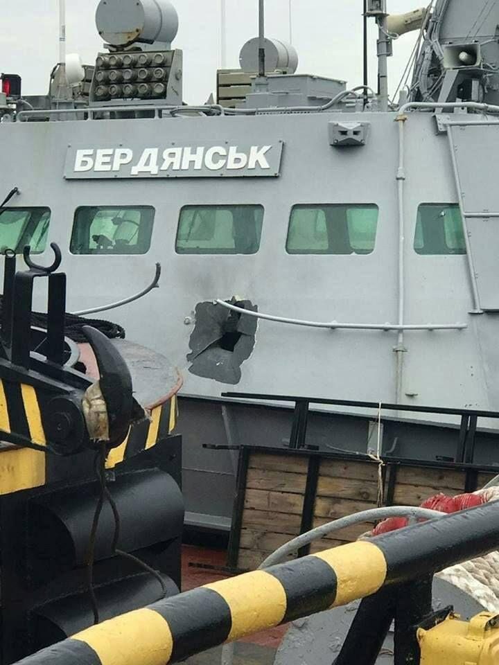 Kijev: Poslali smo ratne brodove u Kerčski moreuz kako bi pokazali svoje prisustvo