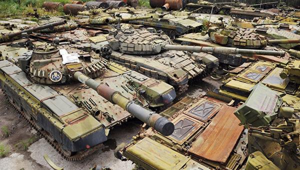 """Ukrajinsku """"brigadu budućnosti"""" će naoružati sovjetskim tenkovima i oklopnim vozilima"""