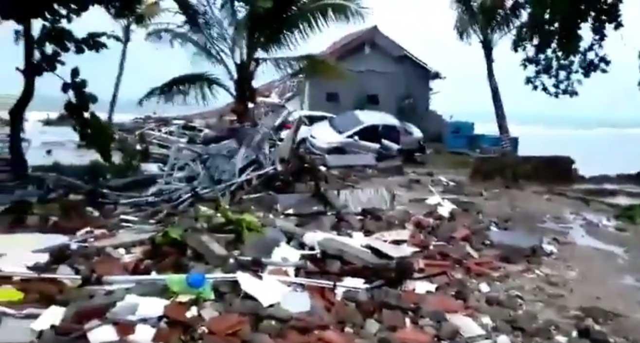 Cunami u Indoneziji odneo najmanje 168 života
