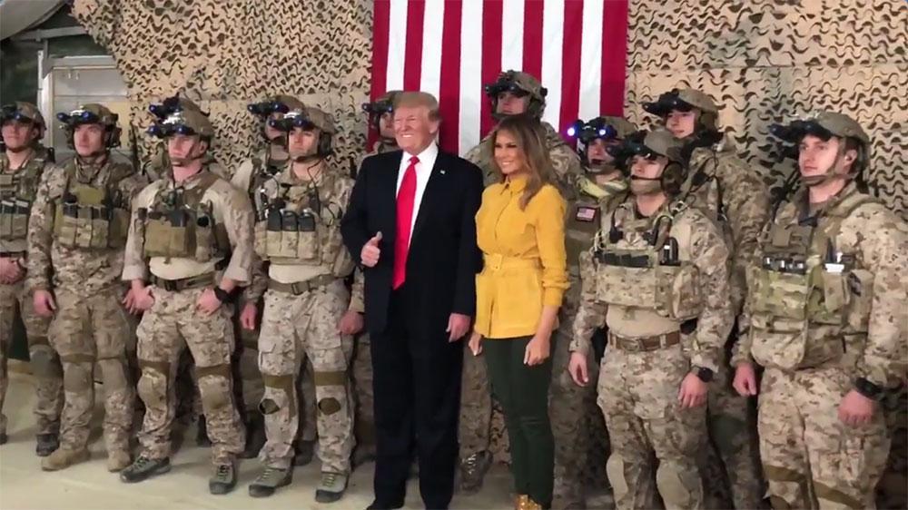 Трамп: У случају да пожелимо нешто да урадимо у Сирији можемо користити базу у Ираку