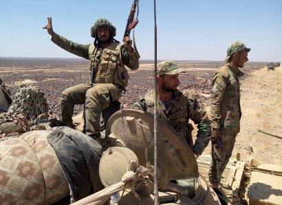 Сиријска армија учврстила положаје дуж западне границе области Манбиџ