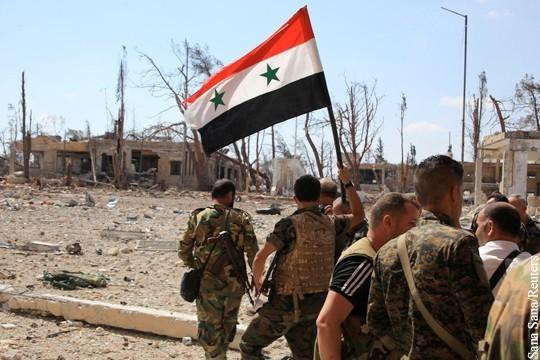 Сиријска војска наставља са уништавањем териториста