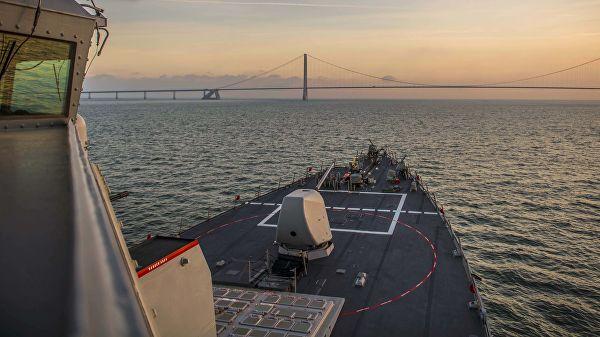 Корвете Балтичке флоте су почеле да прате америчке разараче у Балтичком мору