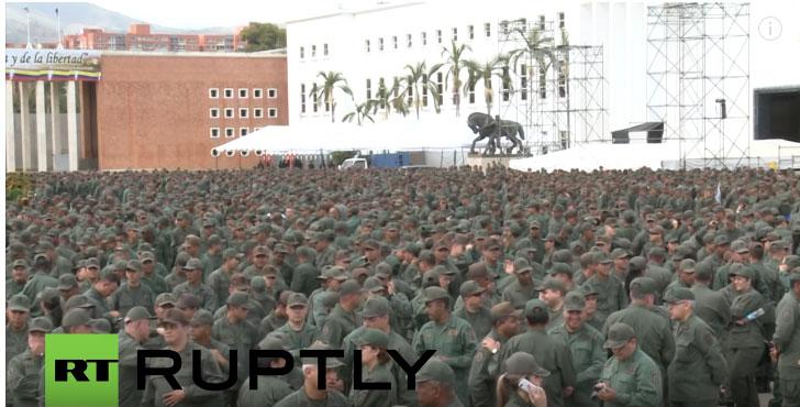 Мадуро најавио велике војне маневре