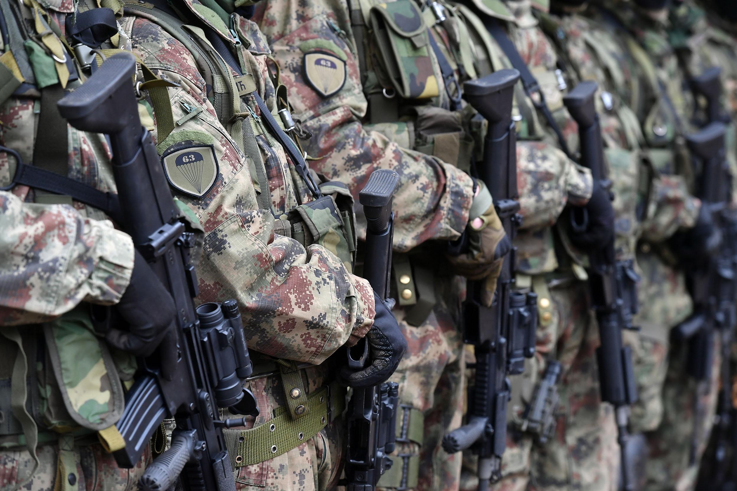 Припадници 63. падобранског батаљона приказали начин планирања и организацију сегмената обуке у зимским условима