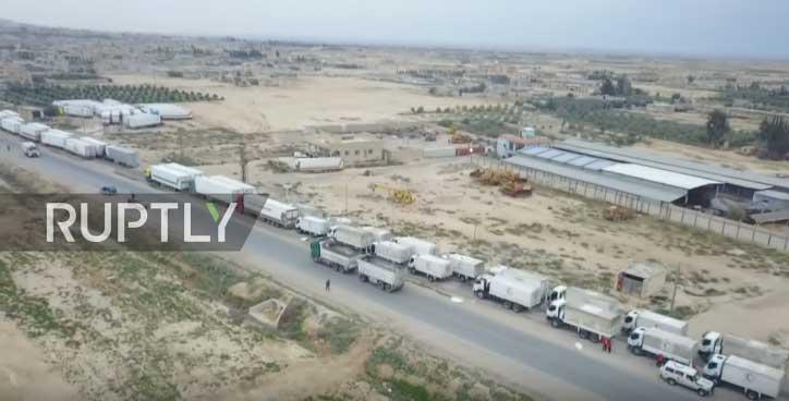 Руска војска обезбедила долазак хуманитарног конвоја УН-а у Рукбан