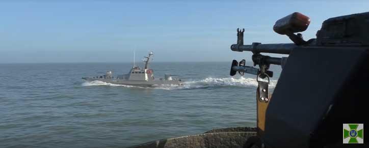 Украјинске снаге одржале војне вежбе у Азовском мору