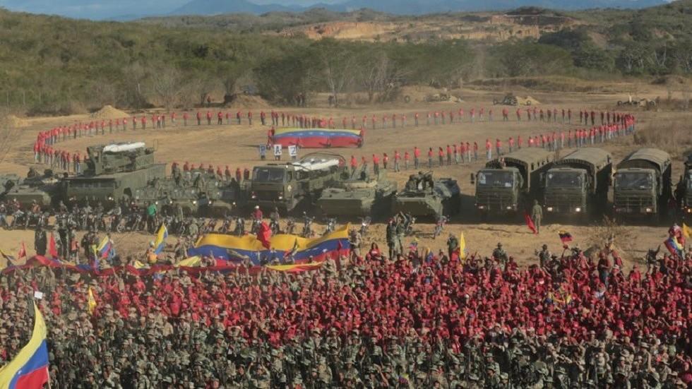 """РТ: Мадуро започео """"најважније војне вежбе у историји Венецуеле"""""""