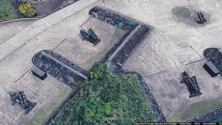"""Упссс: """"Гугл мапа"""" открила лансирне позиције ракета """"Патриот"""" на Тајвану"""