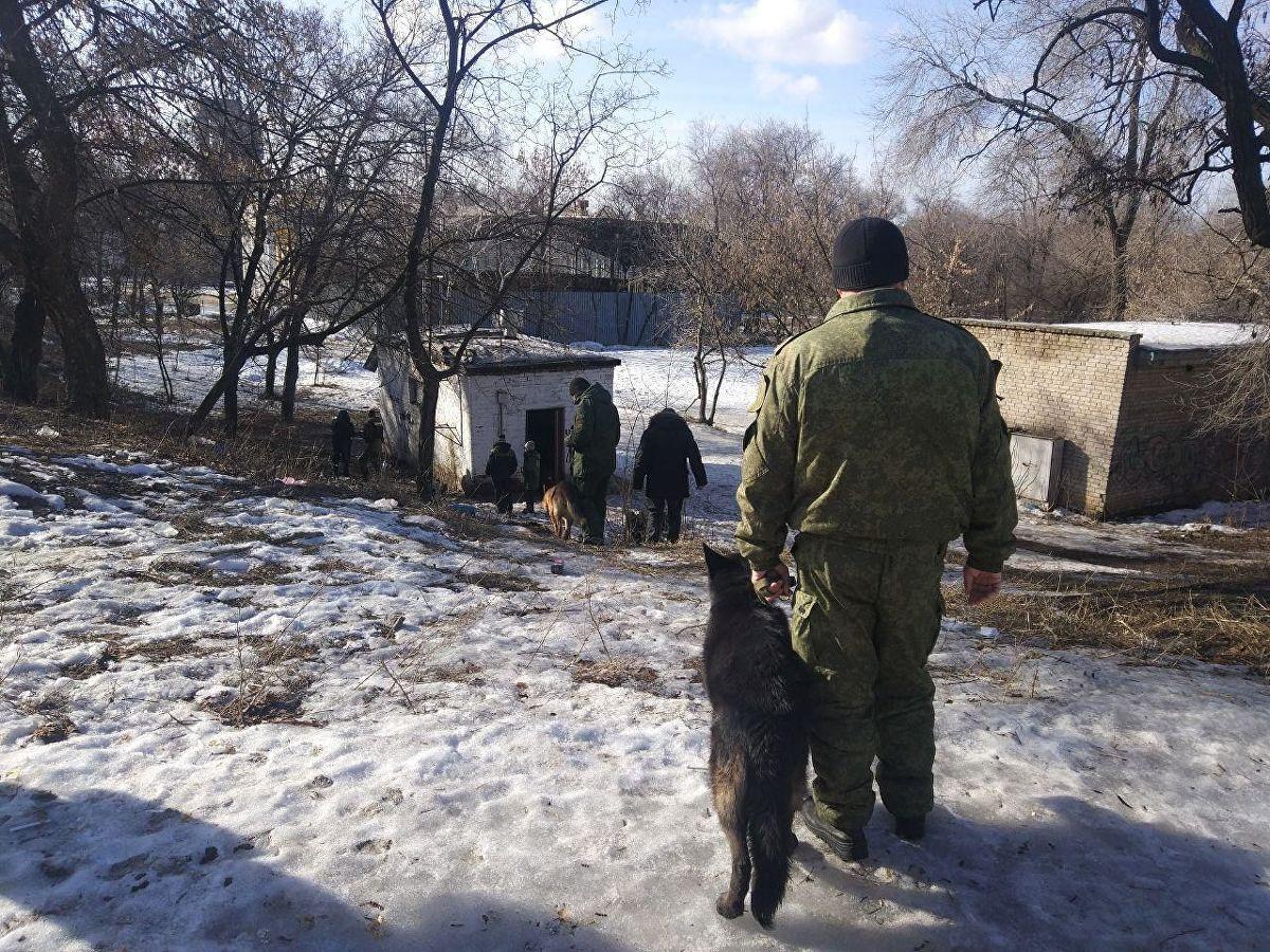 Три екплозије у Доњецку