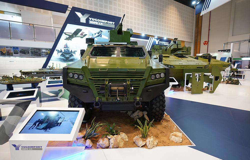 Србско наоружање и технила представљени на сајму у Абу Дабију